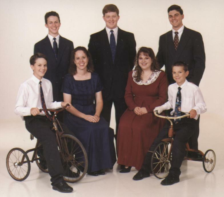 Children of Russell and Karen Anderson - 1998